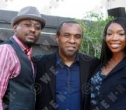 Omar Epps, Robert baker, Brandy Norwood Millennium Dance Complex presents, The Experience' held at The Music Box Hollywood , California-20.02.11