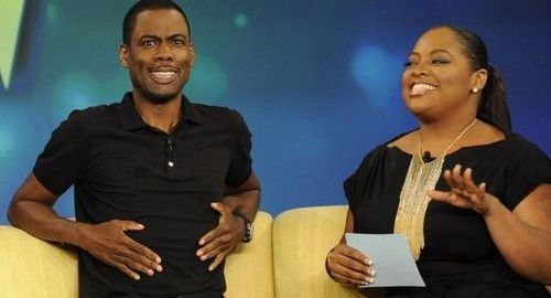 Sherri with Chris Rock on The View !!