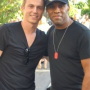 "Kenny Wormald Star of Paramount Pictures ""Footloose"" and Robert Baker"